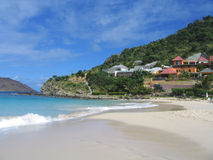 Flamands beach, St. Barts, French West Indies stock image