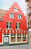 Flamandzki odrodzenie stylu dom zdjęcia royalty free