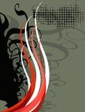 Flamas abstratas Imagem de Stock