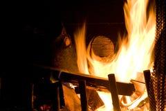 Flamas do incêndio Imagem de Stock Royalty Free