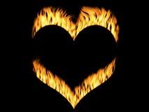 Flamas do incêndio ilustração do vetor
