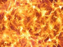 Flamas selvagens do incêndio Imagem de Stock