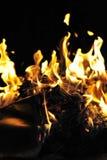 Flamber d'incendie Images libres de droits