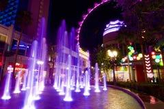 Flambeur de Las Vegas Image libre de droits