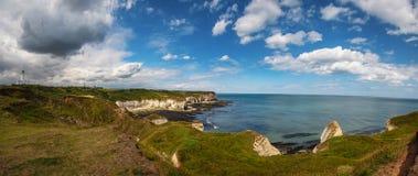 Flamborough Head and Lighthouse royalty free stock photos