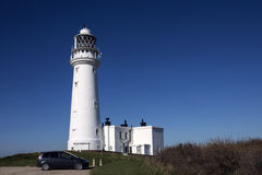 Flamborough Head Lighthouse - Yorkshire - England royalty free stock images