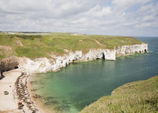 Flamborough huvud Arkivfoto
