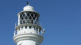 Flamborough-Kopf-Leuchtturm - Yorkshire - England stock footage
