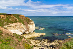 Flamborough-Kopf Yorkshire Lizenzfreies Stockfoto