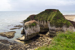 Flamborough-Kopf Yorkshire Stockfoto