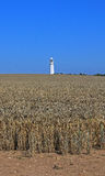 Flamborough Lighthouse, East Yorkshire Stock Photo
