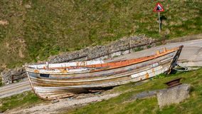 Flamborough North Landing, East Riding of Yorkshire, UK Royalty Free Stock Photography