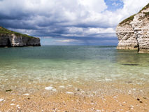 Flamborough Yorkshire de aterrissagem norte Foto de Stock