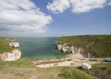 flamboroughhuvud Royaltyfria Bilder