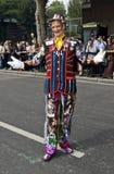 A flamboyant Carnival goer Stock Photo