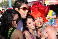 Flamboyant Group at San Francisco Pride Royalty Free Stock Image