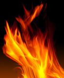Flame. Close up of real flame with details Royalty Free Stock Photos