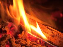 Flame Royalty Free Stock Photography