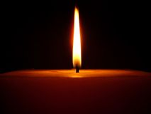 Flame. Candle Royalty Free Stock Images