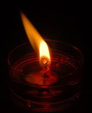 Flame. Pointing to the left as if showing the way stock images