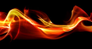 Flame abstract royalty free stock photos