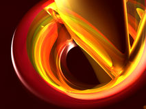 Flame abstract Royalty Free Stock Photo