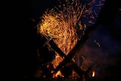 Flame Royalty Free Stock Photos