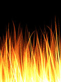 Flame abstract background Royalty Free Stock Photos