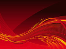 Flame background. Red hot flaming vectorial background Royalty Free Stock Photography