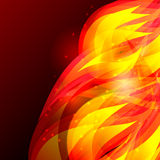 Flame background. Red and brown. Vector illustration Stock Images