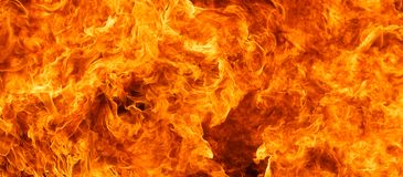 Flame background Royalty Free Stock Photo