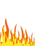 Flame background Stock Photo