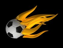 Flame ball Royalty Free Stock Photo
