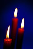 Flame of a candle Royalty Free Stock Photo