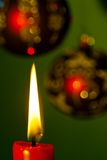 Flame of a candle Stock Image