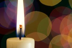 Flame of candle Royalty Free Stock Photos