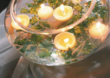 Flame candle Royalty Free Stock Photo