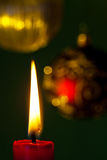 Flame of a candle Royalty Free Stock Photos