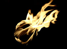 Flame Close Up Royalty Free Stock Images