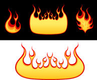 Flame collection Stock Photography