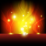 Flame eruption background Stock Images