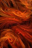 Flame Feathers Abstract Royalty Free Stock Photography