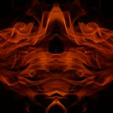 Flame figures Royalty Free Stock Images