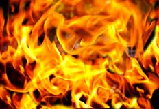 Flame of fire royalty free stock photography