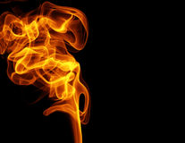 Flame of fire Royalty Free Stock Images
