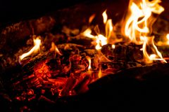 Flame of fire. royalty free stock photo
