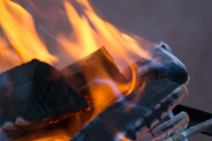 Flame fire Stock Image