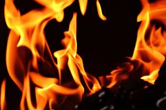 Flame, Fire, Heat, Orange Royalty Free Stock Photography