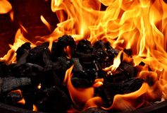 Flame, Fire, Orange, Heat Royalty Free Stock Photo
