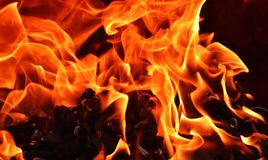 Flame, Fire, Orange, Heat stock images
